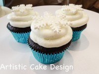 *New 2016: Wintery Cupcakes