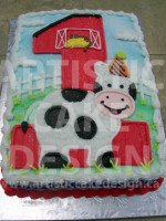 First Birthday Cow