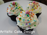 *New 2016: Multicolour Sundae Cupcakes