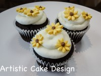 *New 2016: Sunflower Cupcakes