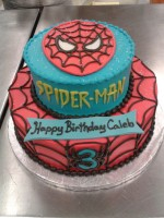 Spiderman Tiered