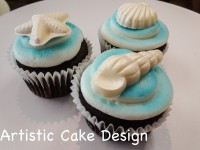 *New 2016: Seashell Cupcakes