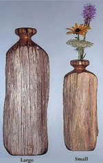 Chestnut Wall Vase