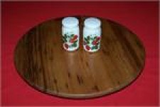 Chestnut Lazy Susan