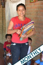 Give to La Chuscada School (Monthly)