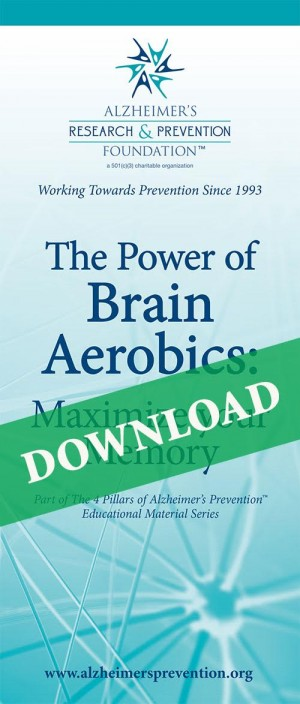 DOWNLOAD IT NOW-  Brochure: The Power of Brain Aerobics