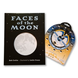 Faces of the Moon Book & Moon Gazer's Wheel Set