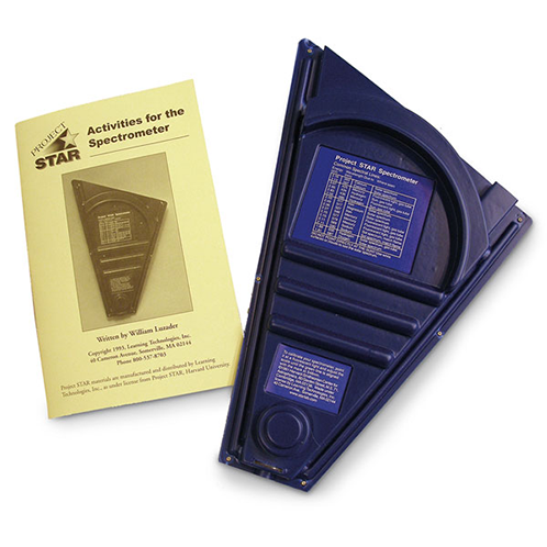 Spectrometer and activity book
