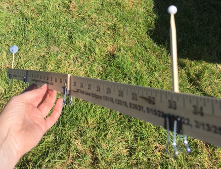yardstick activity outside
