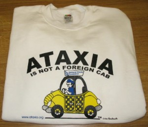 NAF Ataxia is Not a Foreign Cab Sweatshirt ($20)