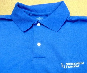 NAF Men's Polo Shirt w/Logo in Royal, Blue  or Light Blue (Clearance-Limited to Available Stock and All Sales are Final)