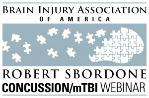 Recovery After mTBI - A Robert Sbordone Memorial mTBI/Concussion Lecture Webinar CD/Handout Package