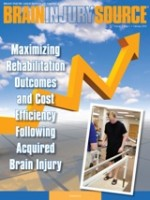 Maximizing Rehabilitation Outcomes and Cost Efficiency Following Acquired Brain Injury - Brain Injury Source - Volume 7 Issue 1