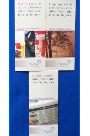 Living with Brain Injury Booklet Set - I