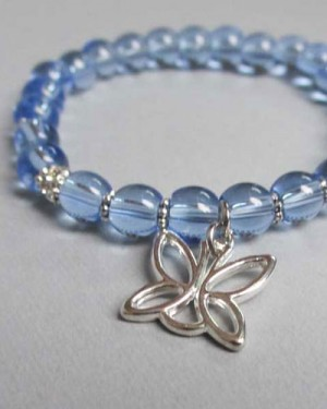 Simply Beautiful Bracelet - Blue