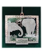 Tange & Flora Holiday Ornament