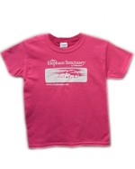 Youth Logo Tee - Hot Pink