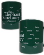 Elephant Sanctuary Logo Mug