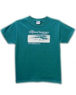 Youth Logo Tees - Jade Green