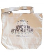 In Memory Ele-Shoulder Tote