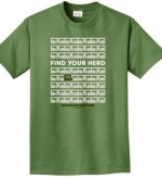 Find Your Herd T-shirt