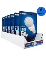Daylight Dimmable LED Light Bulbs, 6-Pack - Need 20 - $69.99 Pack