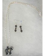 Elephant Necklace/Earrings