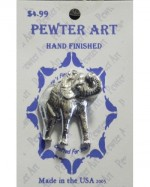 Pewter Elephant Pin