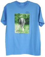 Tarra & Bella T-shirt in Blue