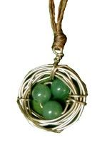Bird's Nest Necklace-Aventurine