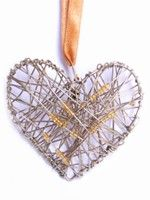 Mini Heart of Gold Ornament