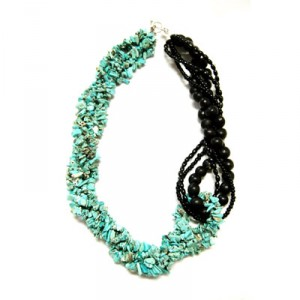 Mallory Necklace - Turquoise