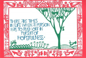 Pursuit of Hopefulness