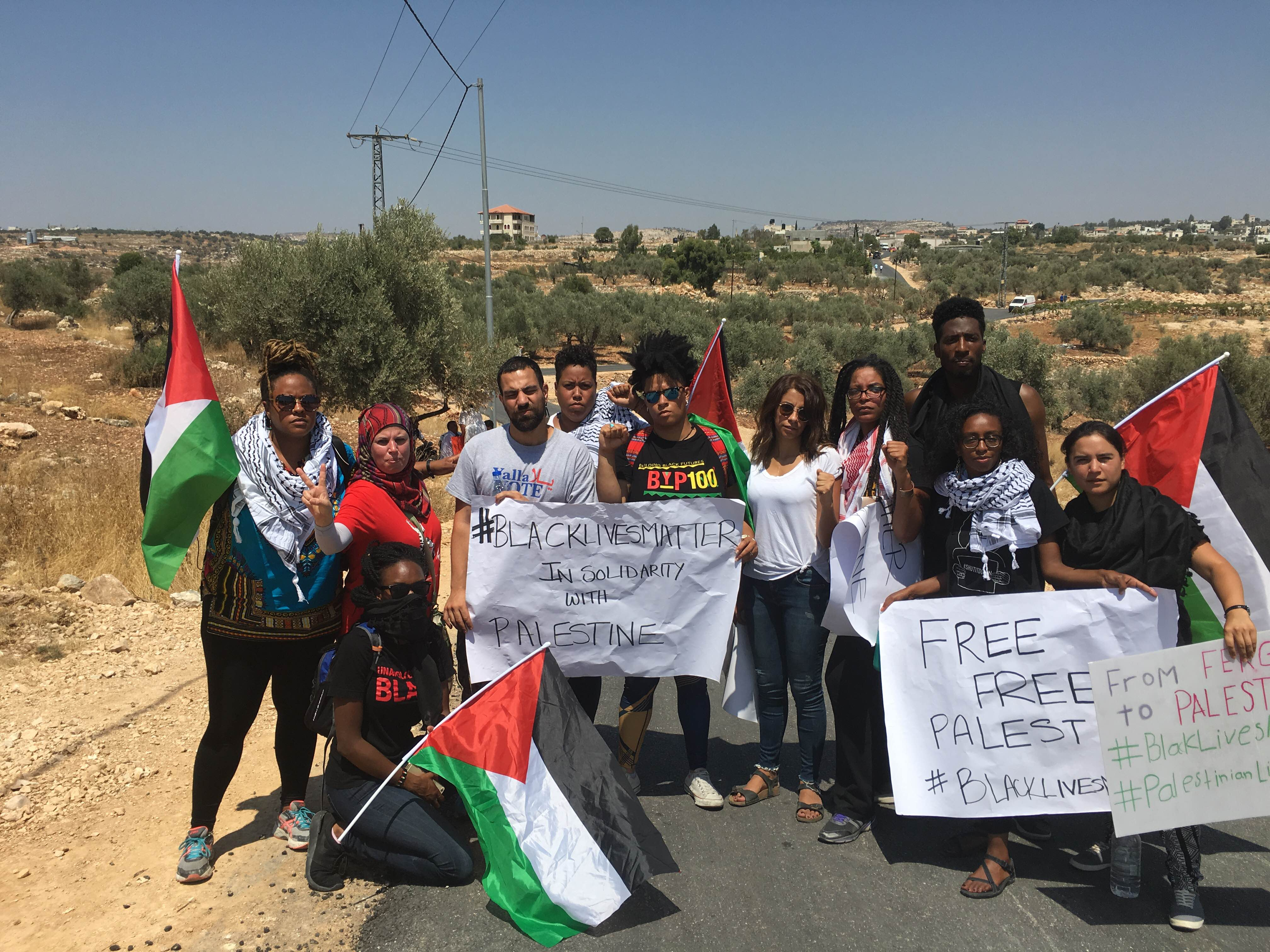 IFPB Indigenous and People of Color Delegation to Palestine, 2016 (photo by Jay-Marie Hill)