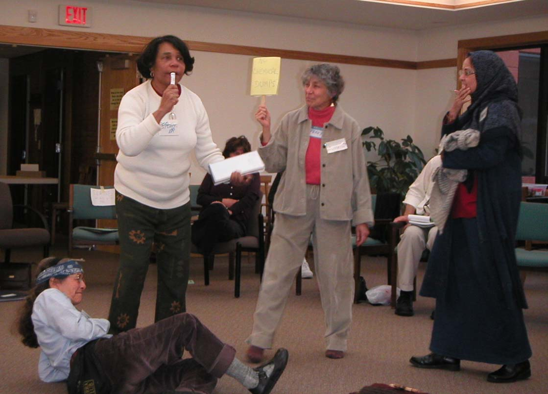 CCP Nonviolence Training in Rochester NY (FOR Archives)