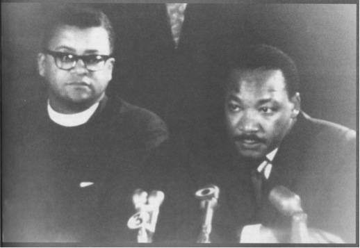 James Lawson and Martin Luther King Jr.