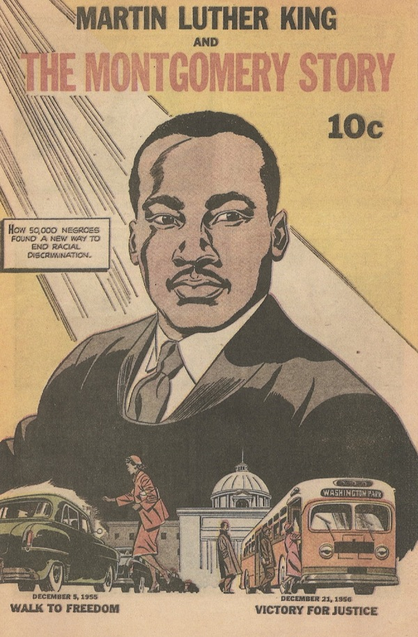 Martin Luther King & the Montgomery Story Comic Book Cover