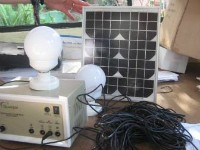 Solar Panel to Provide Cheap Renewable Energy for a Poor Rural Family
