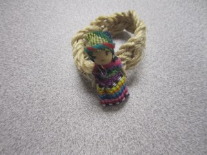Worry Doll Napkin Rings