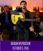 Iberian Inspiration: Featuring Silvium Ciulei and the Maharajah Flamenco Trio </br> October 8, 2016