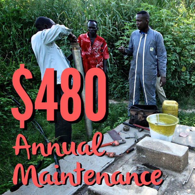 Preventative Maintenance - Annual Pump Sponsorship
