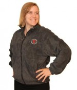 Jacket - Zip-Up Fleece with Embroidered PetalPusher® Logo