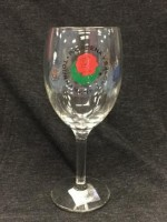 Glass- Tournament of Roses Wine