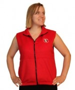 Vest - Fleece with Embroidered PetalPusher® Logo