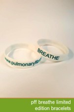 Breathe Limited Edition Bracelet: We are introducing a limited edition bracelet with our signature