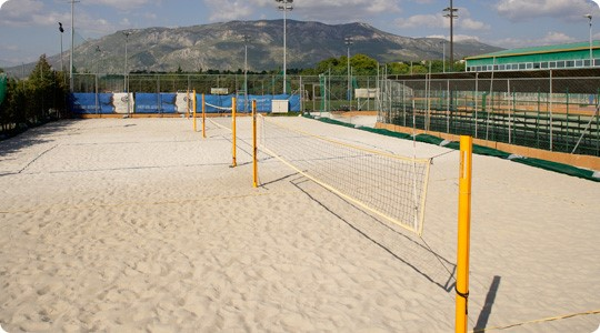 Backyard Sand Volleyball Court : 1000+ images about Sand Volleyball Court on Pinterest  Volleyball