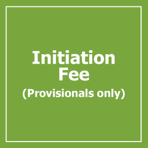 PROVISIONAL INITIATION FEE  (PROVISIONALS ONLY!)