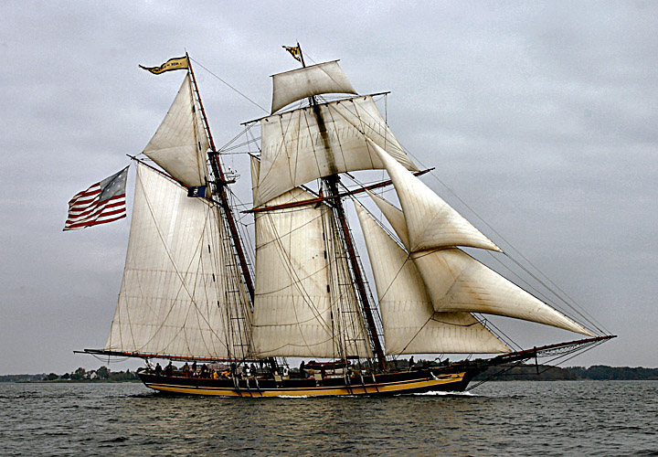 Pride of Baltimore II Downrigging Sails-Oct. 29, 2017-1:00PM