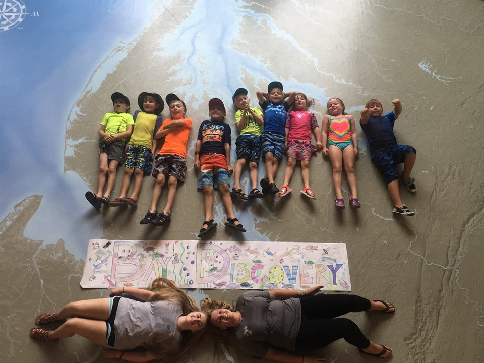 Bay Discovery Camp, July 2-3, 5-6 2018, Registration & Deposit