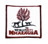 World Vets-Nicaragua Patch (Square)